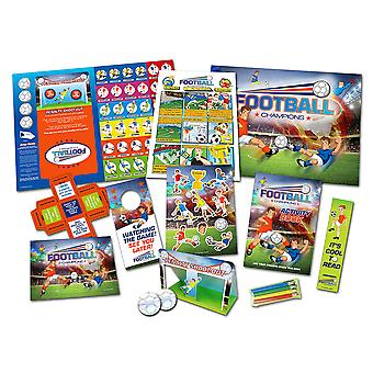 SALE -  Football Champions Kids Craft Activity Pack | Kids Football Crafts
