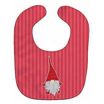 Carolines skatter BB8782BIB Christmas Gnome Baby Bib