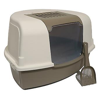 Rosewood Mp Bergamo Ariel Corner Cat Litter Box