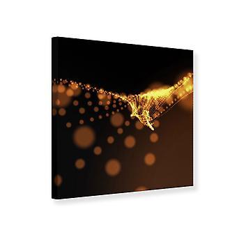 Leinwand drucken Perlen Gold