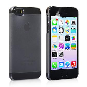 Yousave Accessories Iphone 5 And 5s Hard Case - Clear-Matte