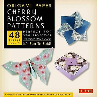 Origami Paper Cherry Blossom Patterns Large by Tuttle Publishing