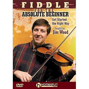 Violin for absolutte begyndere - violin for absolutte begyndere [DVD] USA importen