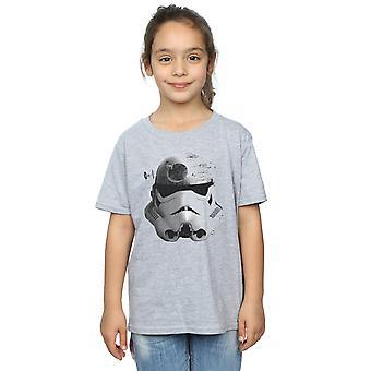 Star Wars Girls Stormtrooper Command Death Star T-Shirt