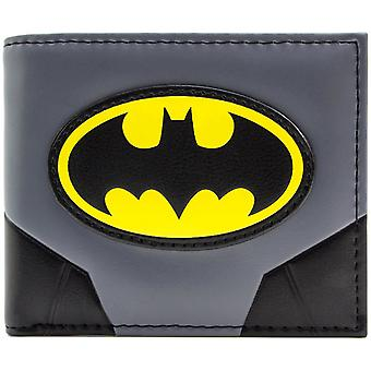 Batman Original Suit and Logo Bi-Fold Wallet