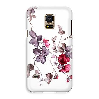 Samsung Galaxy S5 Mini Full Print Case - Pretty flowers
