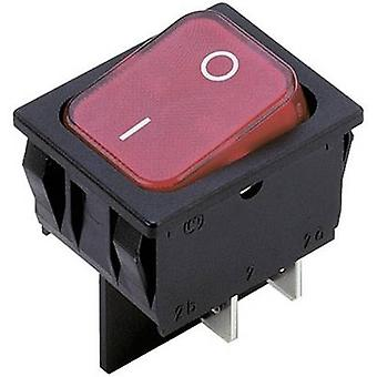 Toggle switch 250 V AC 10 A 2 x Off/On Marquardt 1