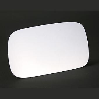 Left Stick-On Mirror Glass for VW CADDY mk2 1996-2000