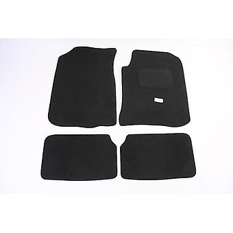 Fully Tailored Car Floor Mats - Mg MG ZT 2001-2005 Black