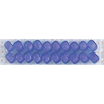 Mill Hill Frosted Glass Seed Beads 2.5mm 4.25g-Blue Violet