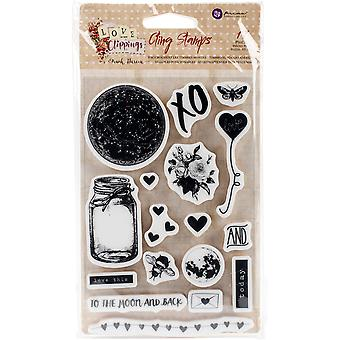 Love Clippings Cling Rubber Stamps 4