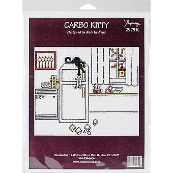 Carbo Kitty Counted Cross Stitch Kit-4.5