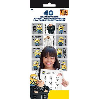 Teacher Reward Stickers 4 Sheets/Pkg-Despicable Me 3