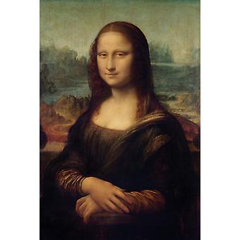 Impresión de Poster Mona Lisa de Leonardo da Vinci (24 x 36)