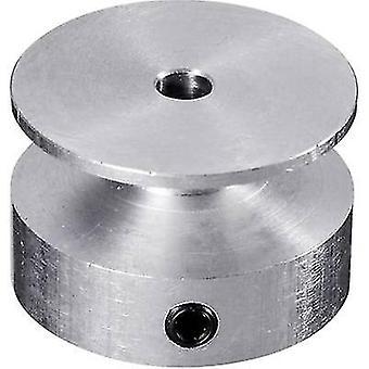 Aluminium V-belt pulley Reely Bore diameter: 5 mm Diameter: 20 mm