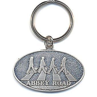 Beatles Abbey Road (Metal, óvalo) llavero Metal