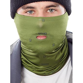 Airhole Olive 2018 Airtube Drylite Snowboarding Facemask