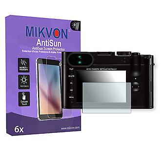 Leica Q Screen Protector - Mikvon AntiSun (Retail Package with accessories)
