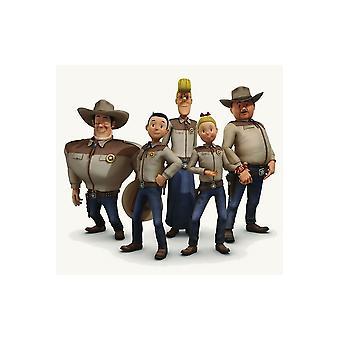 Kinderen kostuums kinderen Cowboy shirt Wiske en de Texas Rangers
