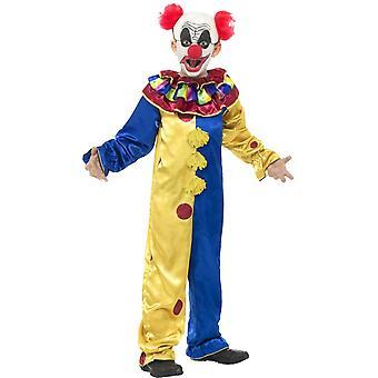 Goosebumps The Clown Costume with Jumpsuit, Medium Age 7-9