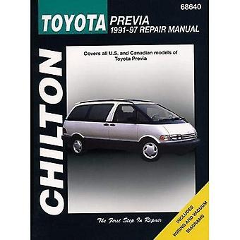 Toyota Previa (1991-97) Repair Manual (Chilton Total Car Care)