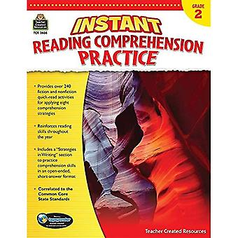 Instant Reading Comprehension Practice: Grade 2