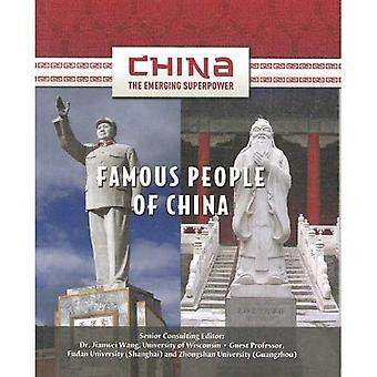 Personnages célèbres de Chine
