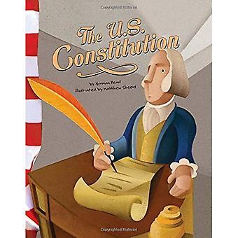 A Constituição dos Estados Unidos (American símbolos)
