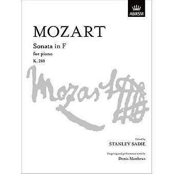 MozartSonata in F K. 280 (Signature S.)