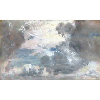 Cloud study,John Constable,60x36cm