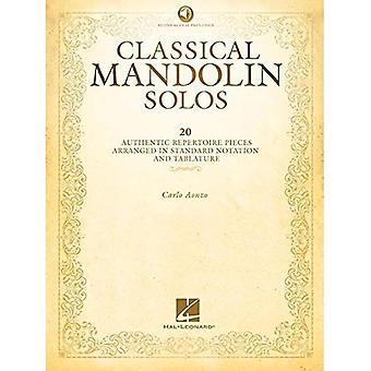 Klassisen mandoliini soolot