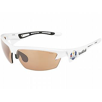 Bolle Bolt Sunglasses (Modulator V3 Golf Oleo AF Lens Shiny White Frame)