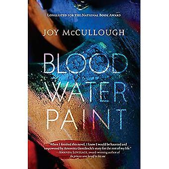 Blut-Wasserfarbe