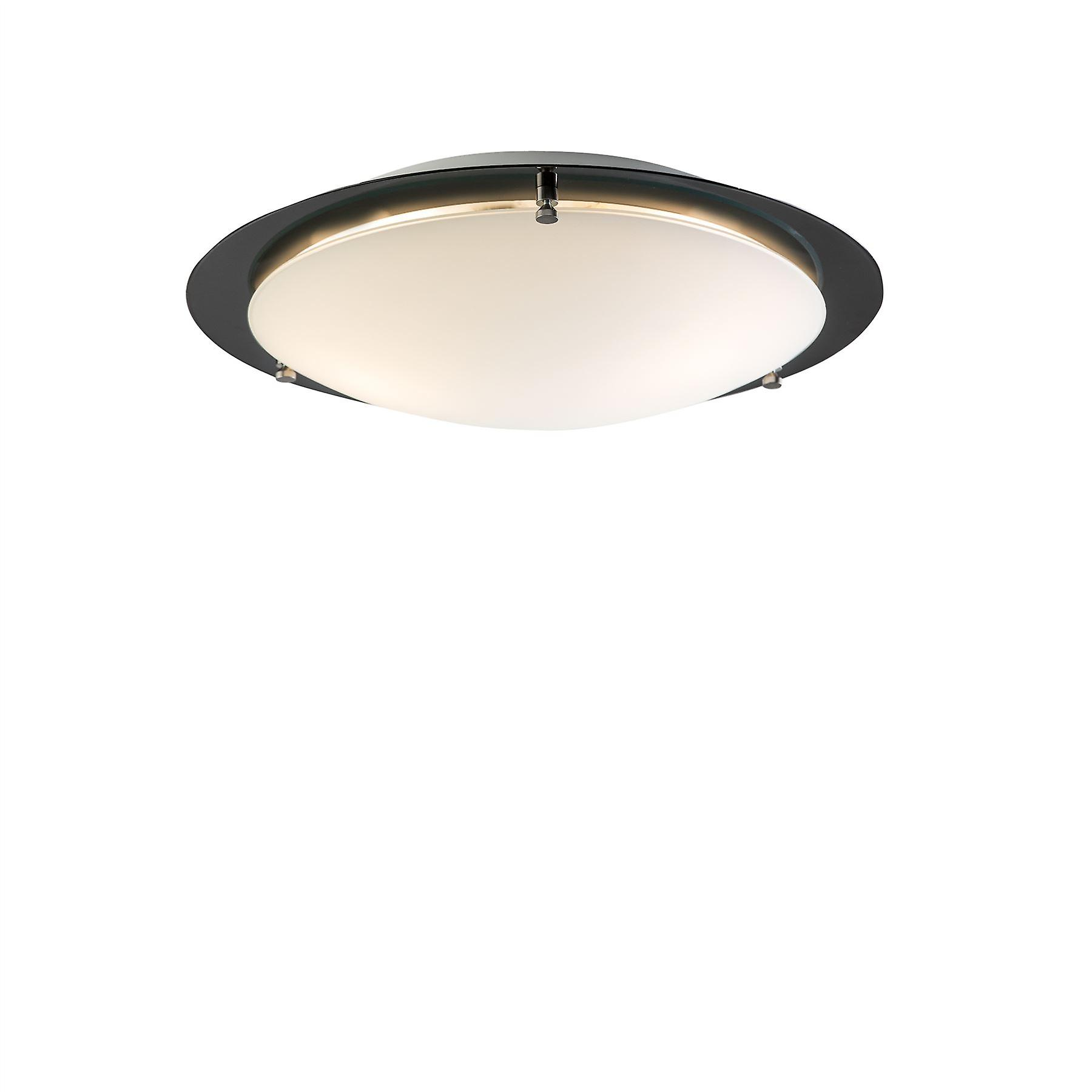 Belid - Cirklo Flush Ceiling lumière LED noir Finish 219327