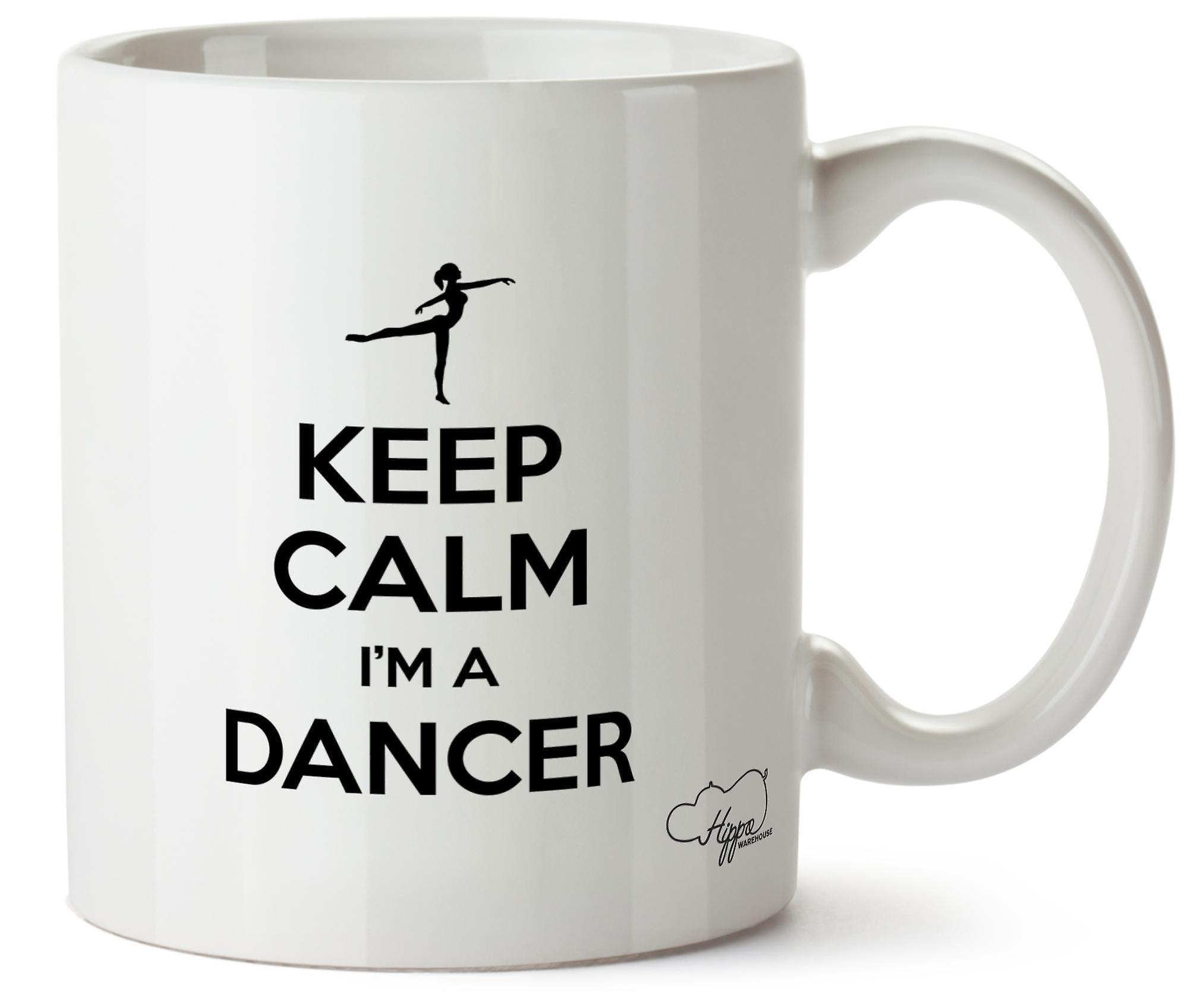 Keep Céramique Imprimé Un Danseur 10oz En Hippowarehouse Suis Tasse CalmJe 7gyYf6b