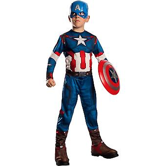 Captain America Costume For Children