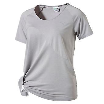 بوما الجانب إيفو عقده المرأة السيدات لياقة القميص المحملة غراي