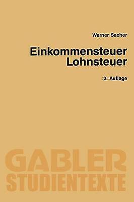 EinkomPour des hommesteuer  Lohnsteuer by Sacher & Werner
