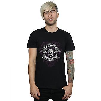 Aveneged Sevenfold Men's Deathbat Flourish T-Shirt