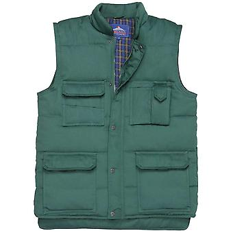 Portwest Mens Shetland vest Bodywarmer jakke (S414) M, L, XL, XXL, 3XL
