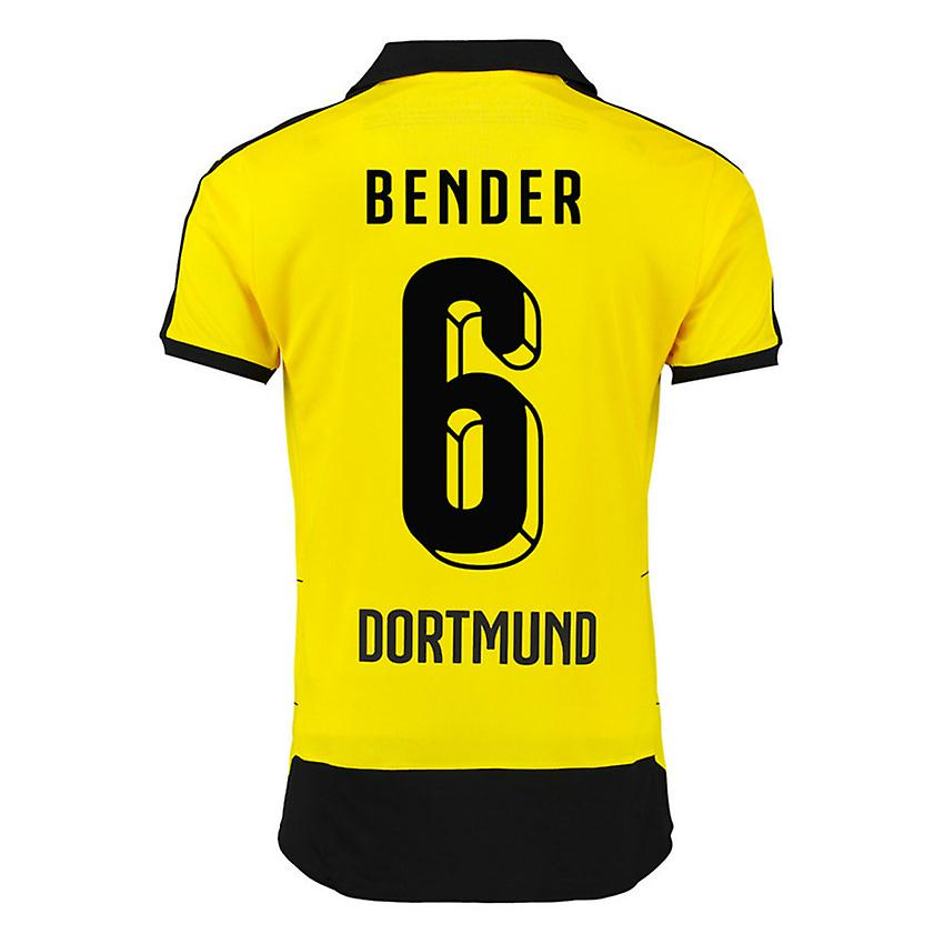 2015-16 Borussia Dortmund Home Shirt (Bender 6) - Kids