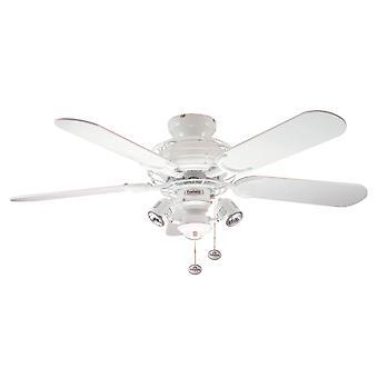 Géminis de ventilador de techo blanco 107cm/42