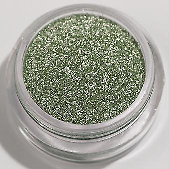 1pc vert menthe de fines paillettes (mat)