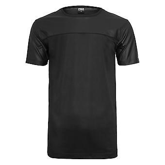 Urban Classics Herren T-Shirt Football Mesh Long Jersey