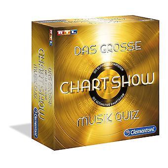 Clementoni The great Chartshow Music Quiz Toy