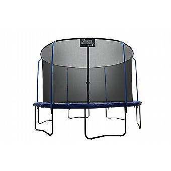 """SKYTRIC"" 8 FT. Trampoline with Top Ring Enclosure System equipped with the "" EASY ASSEMBLE FEATURE"