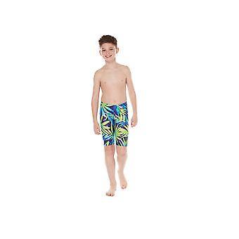 Maru Tropical Palm Pacer Jammer Swimwear For Boys