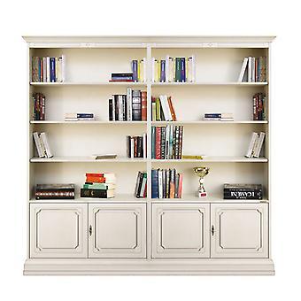 Bookcase for adjustable Shelves Liber 202