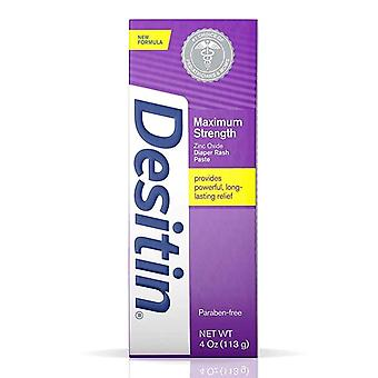 Desitin diaper rash maximum strength original paste, 4 oz