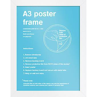 Eton White Frame A3 Poster / Print Frame